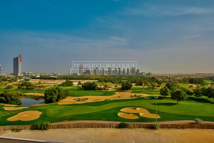 2  High Floor With Full Golf Course Views