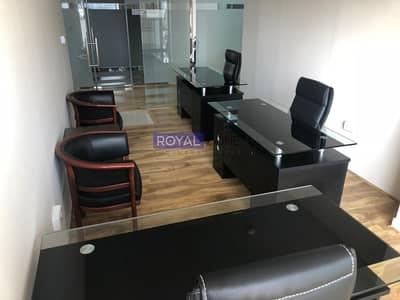 مکتب  للايجار في النهدة، دبي - Office Space Fully Furnished with Outside View