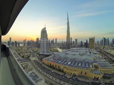 1 Bedroom Flat for Sale in Downtown Dubai, Dubai - Very High Floor | 1 Bed | Partial Burj and Fountain view
