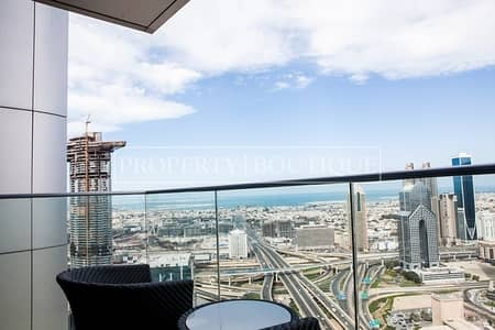 Largest 1 Bed Serviced Apartment | High Floor