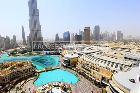 1 Bedroom Flat for Sale in Downtown Dubai, Dubai - 1 Bedroom   Full Burj Khalifa and Fountain view