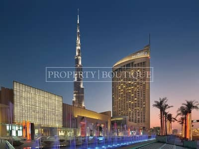 2 Bedroom Flat for Sale in Downtown Dubai, Dubai - 2 Bed | Fountain and Burj Khalifa View | Hotel Pool