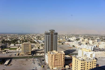 1 Bedroom Flat for Rent in Al Seer, Ras Al Khaimah - Beautiful 1 BHK Apartment in RAK Tower with Stunning views- High floor : 1 Month FREE: NO AGENCY FEE