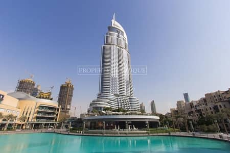 1 Bedroom Flat for Rent in Downtown Dubai, Dubai - Fully Serviced 1 Bed | Address Downtown