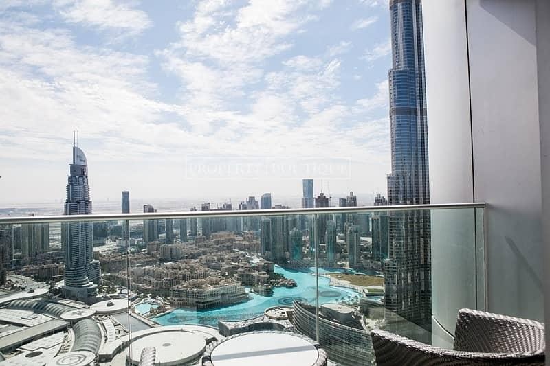 2 02 Series | High floor | Full Burj and Fountain view