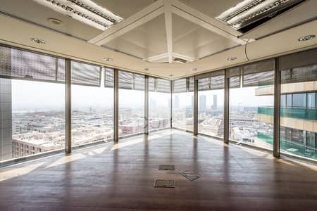 Office for Rent in Bur Dubai, Dubai - Combined Fitted Office I Vacant I Mid Flr