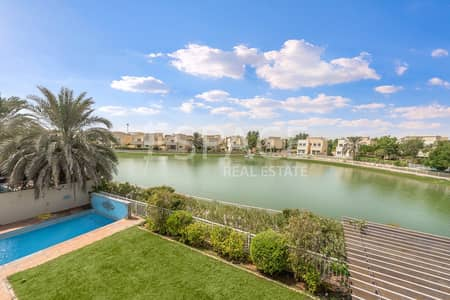 4 Bedroom Villa for Rent in The Meadows, Dubai - Full Lake View - Private Pool - Vacant on Transfer