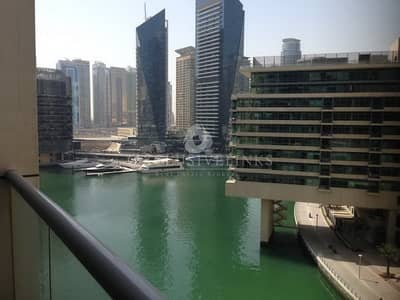 1 Bedroom Flat for Rent in Dubai Marina, Dubai - One  bed flat for rent  Bay Central West