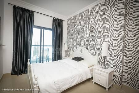 2 Bedroom Flat for Rent in Dubai Marina, Dubai - Beautifully furnished 2 bedroom for rent