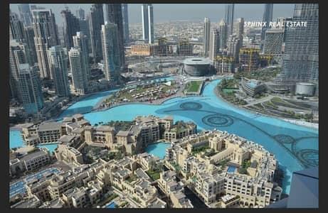 2 Bedroom Flat for Sale in Downtown Dubai, Dubai - Stunning Full Burj & Fountain view High Floor
