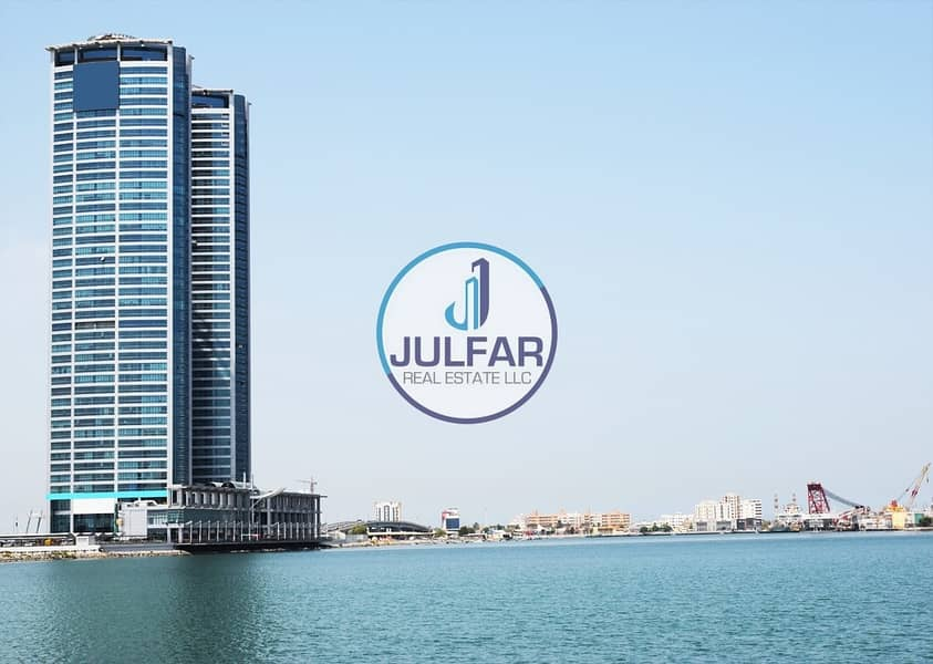Joint Office - Sea View - FOR RENT in Julphar Tower