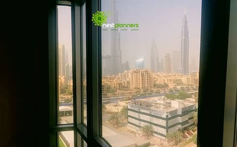 2 Bedroom Flat for Rent in Downtown Dubai, Dubai - Burj Khalifa View | Spacious 2 Bedroom |