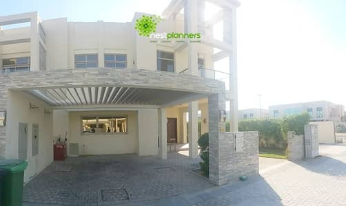4 Bedroom Townhouse for Rent in Meydan City, Dubai - Fully Furnished | 4 BR + Maid's | Corner Unit