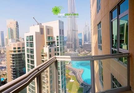 2 Bedroom Apartment for Rent in Downtown Dubai, Dubai - Spacious 2 Bedroom Furnished Burj Facing