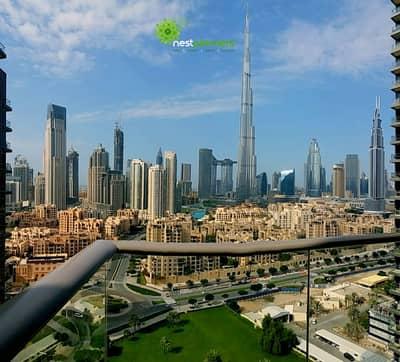 3 Bedroom Apartment for Rent in Downtown Dubai, Dubai - Full Burj Khalifa View | 3 Bedroom +Maid
