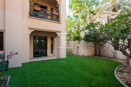 1 Bedroom Flat for Rent in Old Town, Dubai - Beautiful Garden 1BR Apartment - Old Town