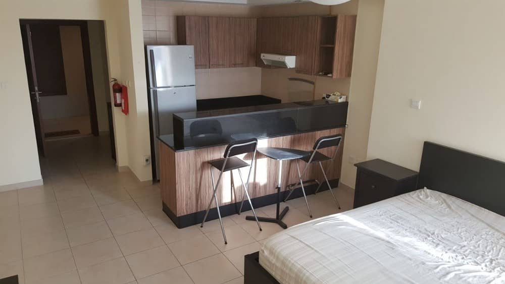 2 Spacious Studio for sale in Downtown Ready vacant with balcony lower floor