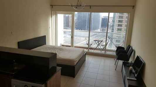 Vacant  Studio for sale in Down town  with balcony lower floor