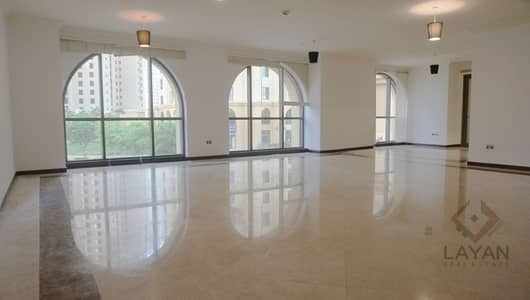 3 Bedroom Apartment for Rent in Jumeirah Beach Residence (JBR), Dubai - 2 balconies, 1 terrace NEGOTIABLE price! 1 month free guaranteed!