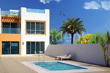 4 Bedroom Townhouse for Sale in Jumeirah Park, Dubai - 4BR|G+2|Swimming pool|Post Handover Payment Plan