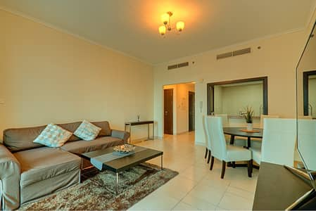 1 Bedroom Flat for Rent in Dubai Marina, Dubai - Fully Furnished 1-Bedroom in Torch Tower