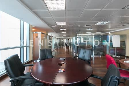 Partly furnished spacious office in the Indigo Icon Tower JLT cluster F