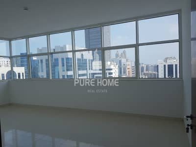 3 Bedroom Flat for Rent in Hamdan Street, Abu Dhabi - Be The First Tenant of this New 3+M Apartment in WTC area