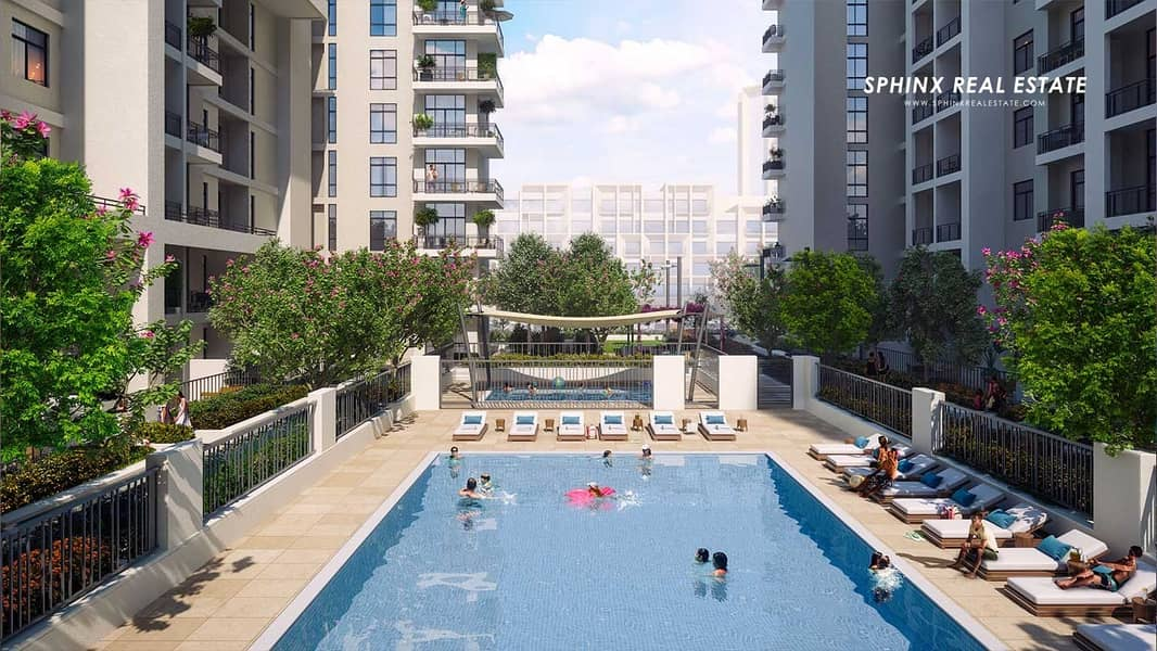 3BR T.S.P 10% booking & 90% on handover Sep 2018