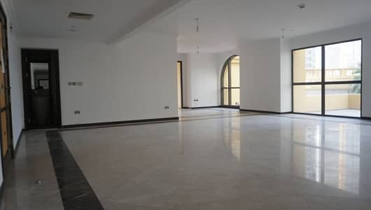 3 Bedroom Apartment for Rent in Jumeirah Beach Residence (JBR), Dubai - 1 months free NEGOTIABLE price (unit with the terrace)