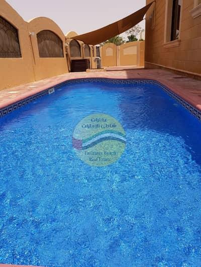 فیلا 5 غرف نوم للايجار في مدينة شخبوط (مدينة خليفة ب)، أبوظبي - فيلا عالية الجودة في مدينة شخبوط مكونة من 5 غرف