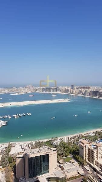 4 Bedroom Flat for Rent in Dubai Marina, Dubai - Sea View I High Floor I Huge 04 Bedrooms