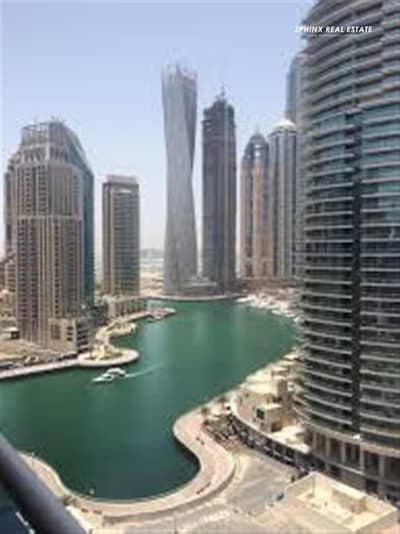 2 Bedroom Flat for Rent in Dubai Marina, Dubai - 2BR+Balcony with Full Marina view available for Rent
