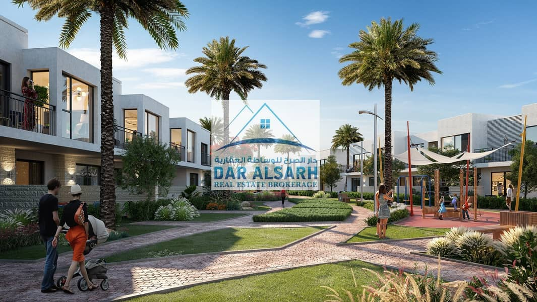Villas ready for occupancy in Dubai
