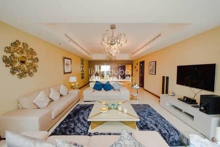 4 Bedroom Flat for Rent in Dubai Marina, Dubai - BEAUTIFUL BIG 3 BED  FURNISHED  FOR RENT IN DUBAI MARINA