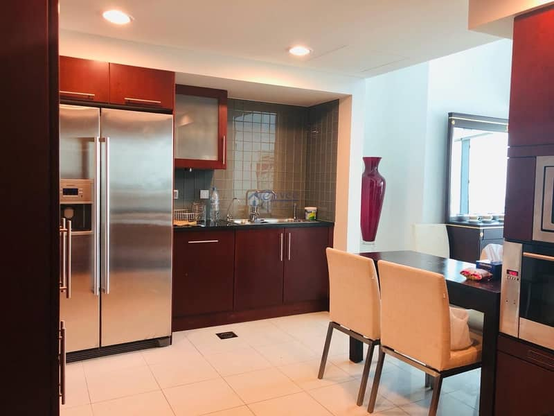 2 Nice Furnished and High Posh  3Br Duplex Apartment for Rent in Jumeirah Living