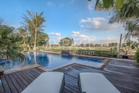 5 Bedroom Villa for Sale in Arabian Ranches, Dubai - Upgraded 5 Bedroom - Golf Course View