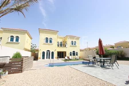 3 Bedroom Villa for Sale in Jumeirah Park, Dubai - Legacy Small Corner Villa with Private Pool