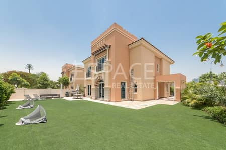 5 Bedroom Villa for Sale in Dubai Sports City, Dubai - C1 | Park Backing | Large Corner Unit
