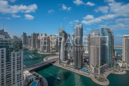 3 Bedroom Apartment for Sale in Dubai Marina, Dubai - Upgraded 3 Bedroom   Full Marina View