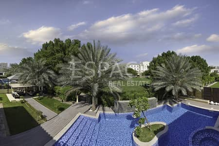 5 Bedroom Villa for Sale in Green Community, Dubai - Upgraded | Private Pool | Backing Park