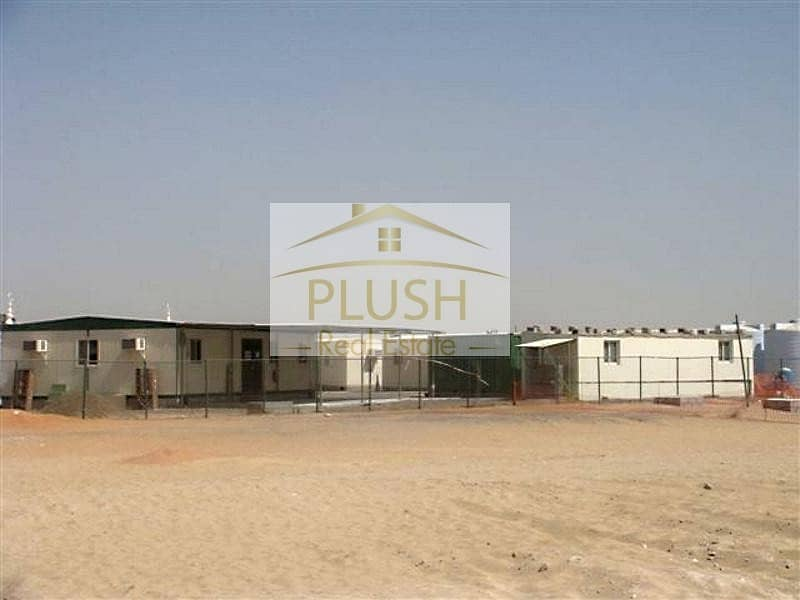 10 A 117 ROOMS LABOR CAMP FOR SALE FOR 1000 PEOPLE