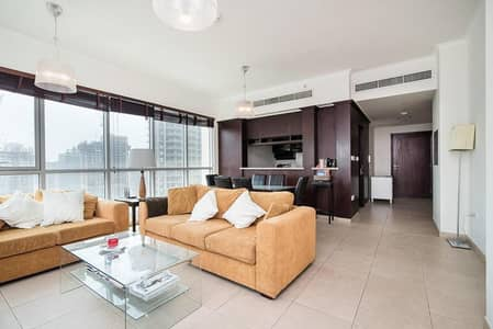 1 Bedroom Flat for Rent in Downtown Dubai, Dubai - Fully furnished 1 Bed Apt in The Residence Tower