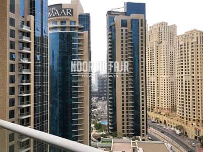 1 Bedroom Flat for Rent in Dubai Marina, Dubai - 1 B/R+balcony