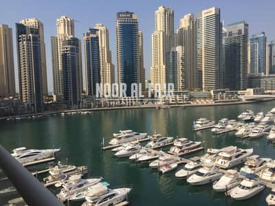 2 Bedroom Apartment for Rent in Dubai Marina, Dubai - 2 B/R+ Maids+ Balcony
