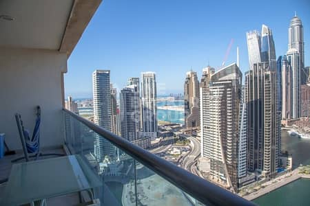 2 Bedroom Apartment for Rent in Dubai Marina, Dubai - 2 BR/ Penthouse / Full Marina View /110K