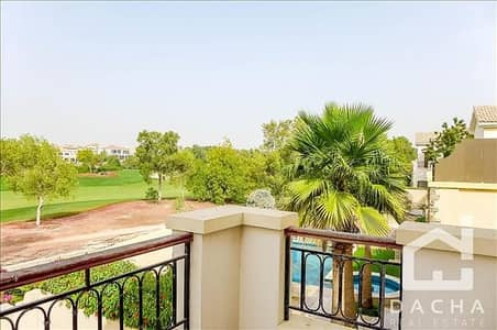 5 Bedroom Villa for Rent in Jumeirah Golf Estate, Dubai - Golf Course View / 5 bedroom / Lime Tree Valley