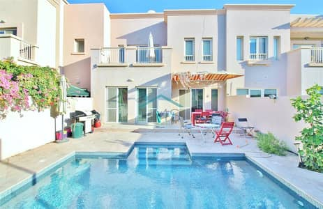 3 Bedroom Villa for Sale in The Springs, Dubai - Upgraded 2M with Private Pool   Springs 2M