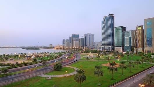 2 Bedroom Flat for Sale in Al Majaz, Sharjah - للبيع شقة غرفتين وصالة بسعر مميز