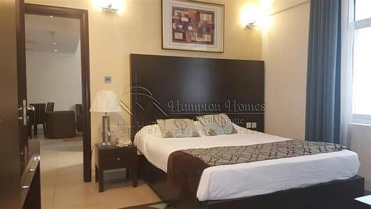 2 Bedroom Apartment for Rent in Al Barsha, Dubai - Fully Furnished Chiller free 2 bhk apt with balcony 85K 4 cheqs