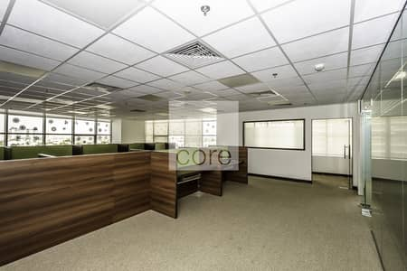 Office for Rent in Jumeirah Lake Towers (JLT), Dubai - Fitted office for rent I 3 months free